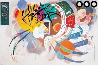 Dominant Curve, c.1936 by Wassily Kandinsky