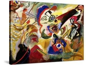 Fragment II for Composition VII by Wassily Kandinsky