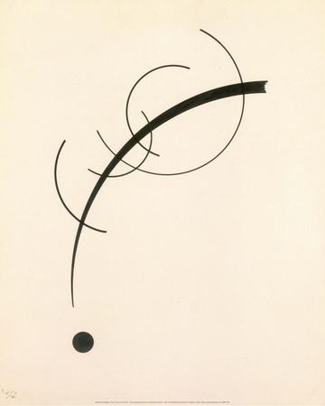 Free Curve to the Point - Accompanying Sound of Geometric Curves, 1925