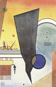 Gebogene Spitze (No Text) by Wassily Kandinsky
