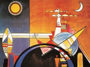 Grand Torre, Kiev by Wassily Kandinsky