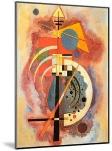 Hommage to Grohmann by Wassily Kandinsky