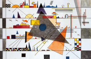 Horizonale, c.1924 by Wassily Kandinsky