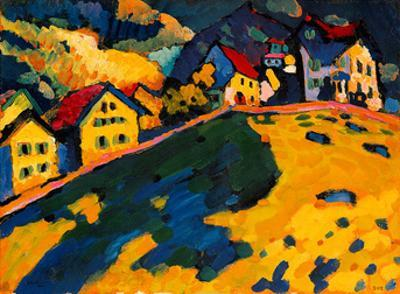 Houses on a Hill, 1909 by Wassily Kandinsky