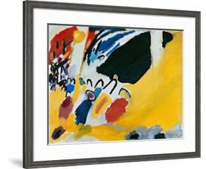 Impression lll (1911) by Wassily Kandinsky