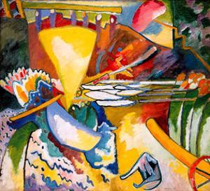 Improvisation 11, 1910 by Wassily Kandinsky