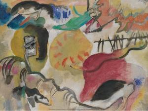 Improvisation 27 (Garden of Love II), 1912 by Wassily Kandinsky