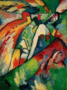 Improvisation 7 (Storm), 1910 by Wassily Kandinsky