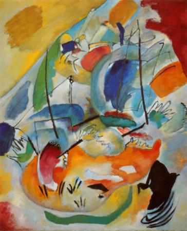 Improvisation No. 31, Sea Battle, c.1913 by Wassily Kandinsky