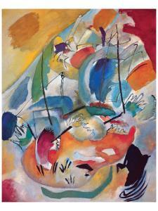 Improvisation No.31: Sea Battle by Wassily Kandinsky