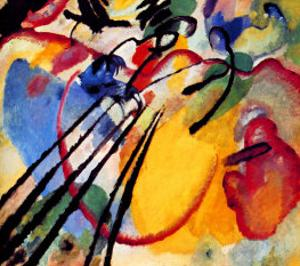 Improvisation by Wassily Kandinsky