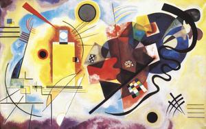 Jaune, Rouge, Bleu, 1925 by Wassily Kandinsky