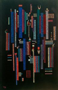 Jeu des Verticales, 1939 by Wassily Kandinsky