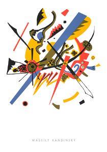 Kleine Welten l, 1922 by Wassily Kandinsky