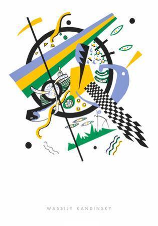 Kleine Welten lV, 1922 by Wassily Kandinsky