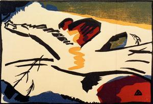 Lyrical, 1911 by Wassily Kandinsky