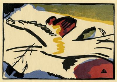 Lyrisches Presse (1911) by Wassily Kandinsky