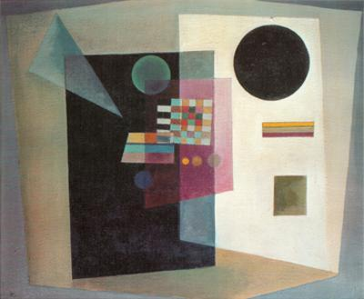 Maintaining, c.1926 by Wassily Kandinsky