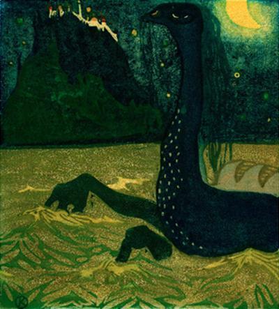 Moonlit Night, 1907 by Wassily Kandinsky
