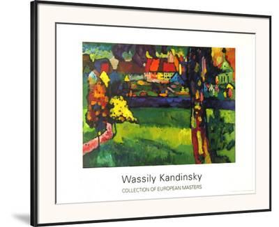 Murnau, 1909 by Wassily Kandinsky