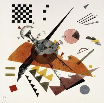 Orange by Wassily Kandinsky