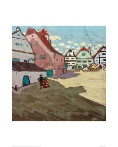 Paese, 1906 by Wassily Kandinsky