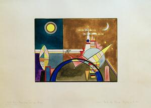 Pictures at an Exhibition Picture XVI, 1930 by Wassily Kandinsky