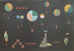 Plat Profond by Wassily Kandinsky