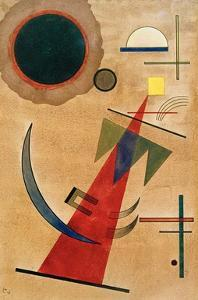 Pointed Red Shape, 1925 by Wassily Kandinsky
