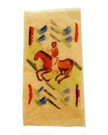 Red Rider, 1913 by Wassily Kandinsky