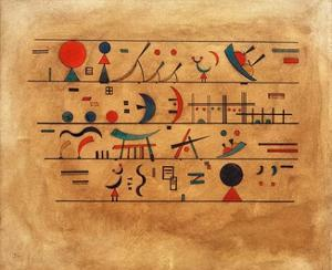Rows of Symbols, 1931 by Wassily Kandinsky