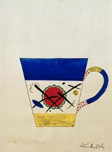 Sketch for a Milk Cup, 1920 by Wassily Kandinsky