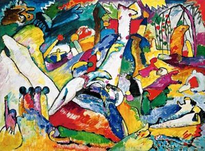 Sketch for Compositon II, 1910 by Wassily Kandinsky