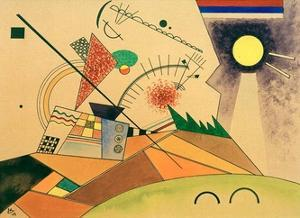 Sketch for Moving Silence, 1923 by Wassily Kandinsky