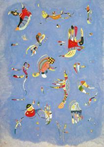Sky Blue, c.1940 by Wassily Kandinsky