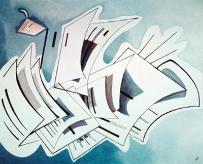 Slight Tension, 1935 by Wassily Kandinsky