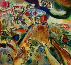 Small Pleasures, 1913 by Wassily Kandinsky