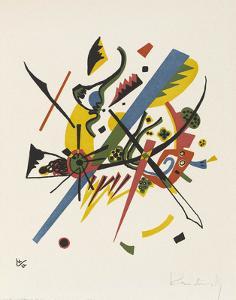 Small Worlds (1922) by Wassily Kandinsky