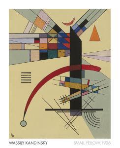 Small Yellow, 1926 by Wassily Kandinsky
