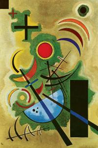 Solid Green by Wassily Kandinsky