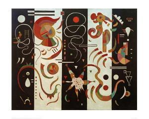 Stripe, 1934 by Wassily Kandinsky