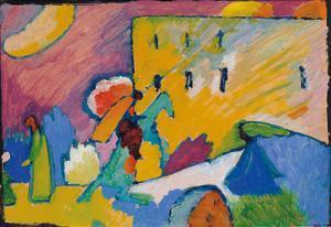 Studie zu Improvisation 3 (1910) by Wassily Kandinsky