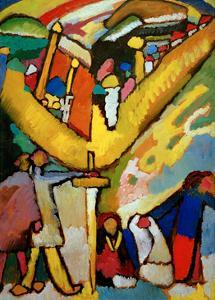 Study for Improvisation 8, 1910 by Wassily Kandinsky