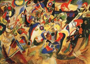 Study for Komposition VII by Wassily Kandinsky