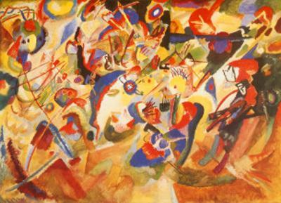 Study for Komposition VII by Wassily Kandinsky