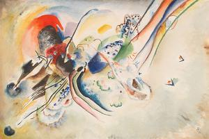 Study for Picture with Two Red Spots, 1916 by Wassily Kandinsky