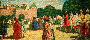 Sunday (Old Russian), 1904 by Wassily Kandinsky
