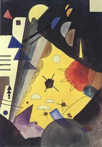 Tension in Height by Wassily Kandinsky