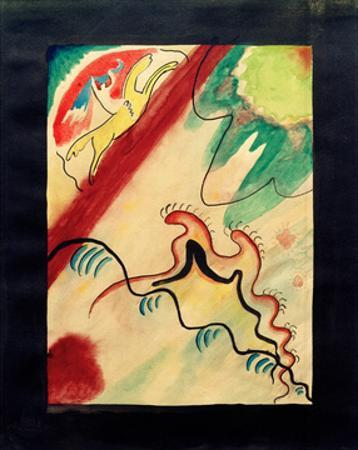The Blue Rider, 1911 by Wassily Kandinsky