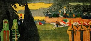The Pursuit, 1907 by Wassily Kandinsky